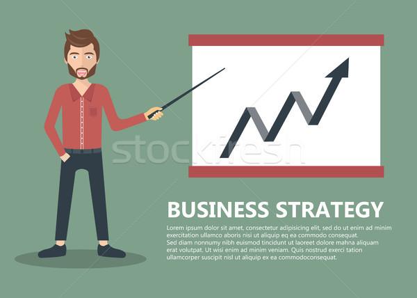 Biznesmen rozwoju spotkanie konferencji Zdjęcia stock © makyzz