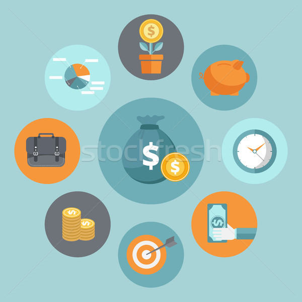 Business and finance concept Stock photo © makyzz