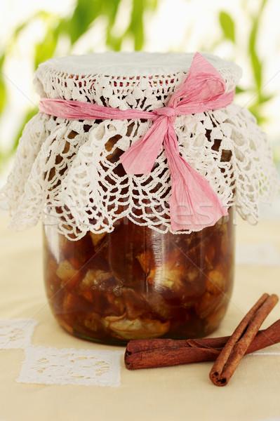 Jam kaneel appel specerijen voedsel Stockfoto © mallivan