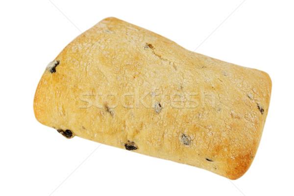 Olijven witte brood plant eten studio Stockfoto © mallivan