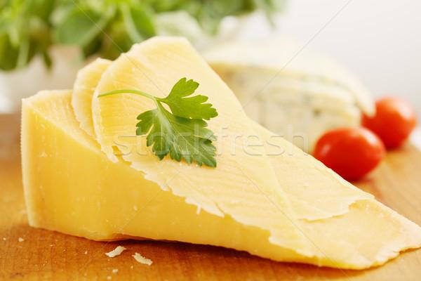 parmesan cheese with tomatoes Stock photo © mallivan