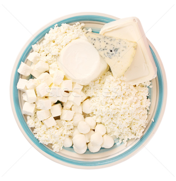 dairy products, assorted Stock photo © mallivan