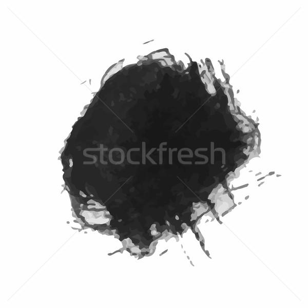 Grunge escove vetor moderno abstrato Foto stock © Mamziolzi