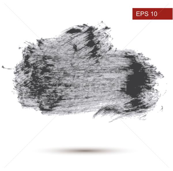 Hand Drawn Grunge background. Vector Illustration Stock photo © Mamziolzi