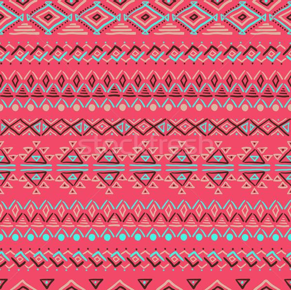 Senza soluzione di continuità abstract disegno geometrico set geometrica Foto d'archivio © Mamziolzi
