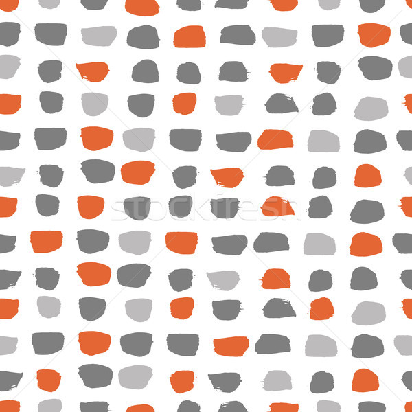 Stock photo: Vector seamless pattern brush strokes.