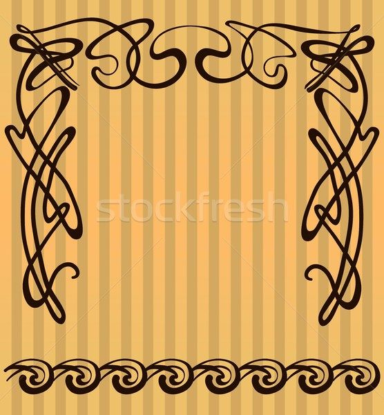 decorative items and scope in modern style Stock photo © Mamziolzi