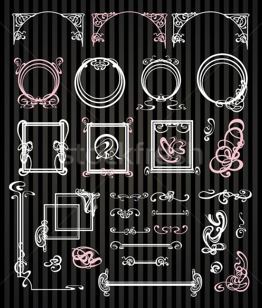 decorated modern style Stock photo © Mamziolzi