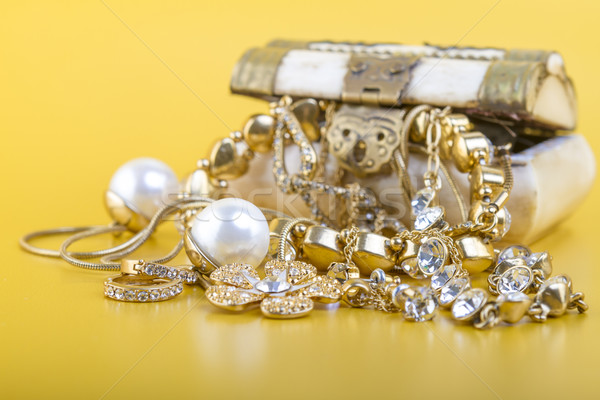 Gold Jewlery Concept  Stock photo © manaemedia