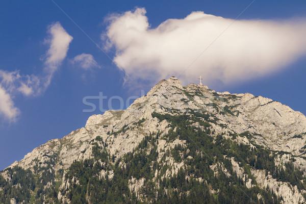 cross on a mountaintop Stock photo © manaemedia