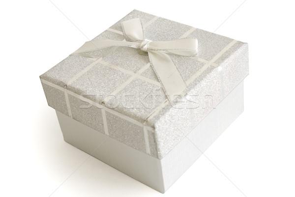 Christmas geschenken geschenkdoos geïsoleerd witte achtergrond Stockfoto © manaemedia