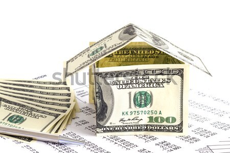 Money to invest for a house Stock photo © manaemedia