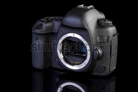 Dslr камеры черный стекла мнение технологий Сток-фото © manaemedia
