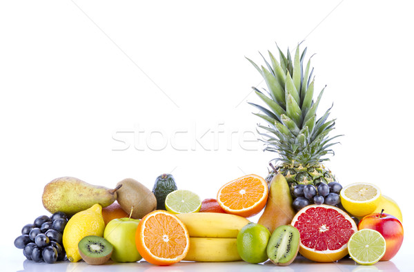 Assortment of exotic fruits Stock photo © manaemedia