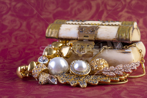 Gold Jewelry Concept Stock photo © manaemedia