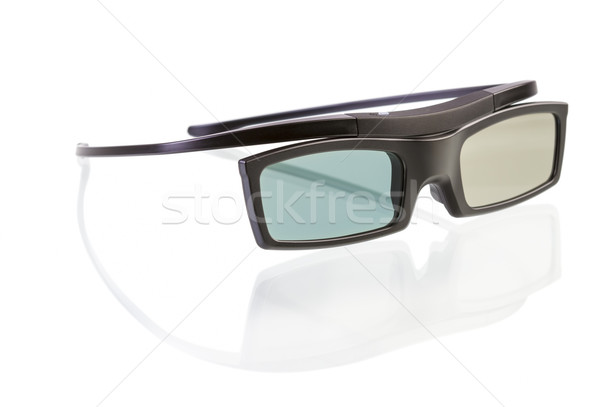 3d glasses on white  Stock photo © manaemedia