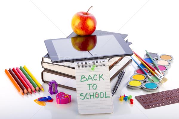 Online technologie onderwijs leren digitale tablet Stockfoto © manaemedia