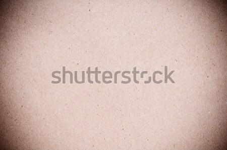 Texture carta marrone primo piano spazio retro Foto d'archivio © manera
