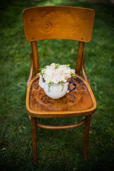 夏 結婚式 パーティ 装飾 新鮮な ストックフォト © manera