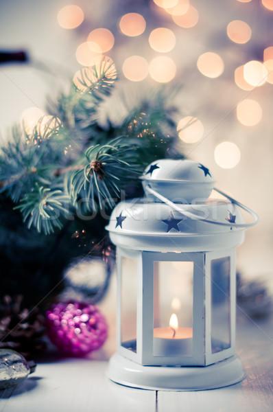 Vintage Рождества старые украшения Сток-фото © manera