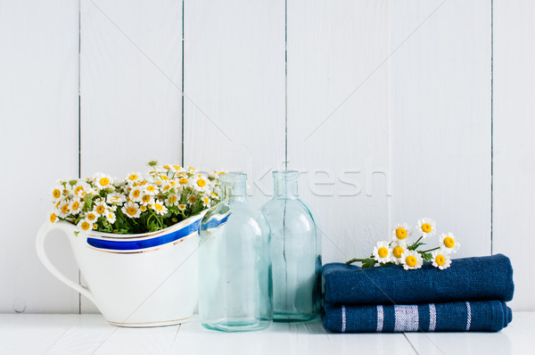 home kitchen rustic decor Stock photo © manera