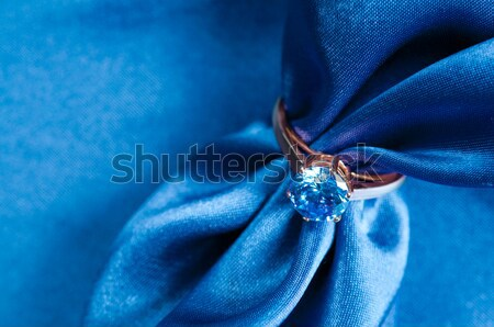 ring with a gem Stock photo © manera