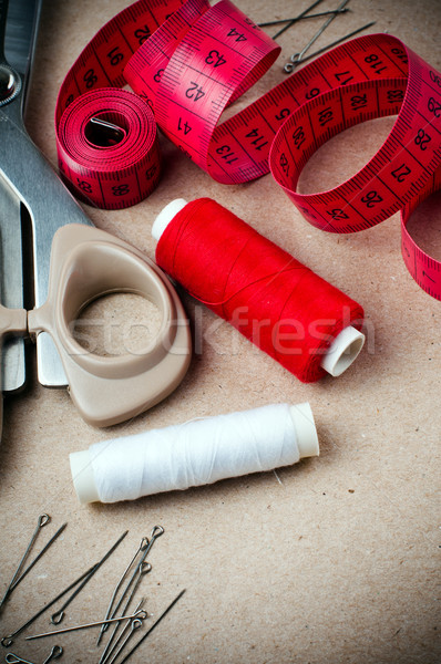 Stock photo: Tools for sewing and handmade