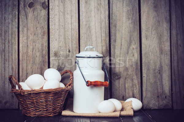 Stock photo: Country kitchen Still Life