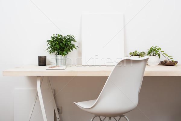 Stile avvio lavoro spazio bianco Foto d'archivio © manera