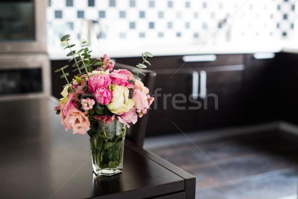 fresh pink flowers  Stock photo © manera