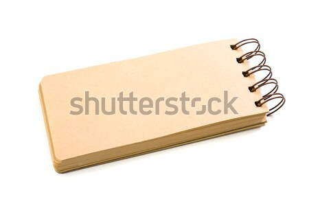 New blank paper note pad isolated Stock photo © manera