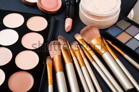 Professional makeup brushes and tools, make-up products set Stock photo © manera