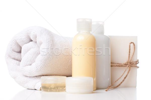 продукции Spa тело ухода гигиена белый Сток-фото © manera