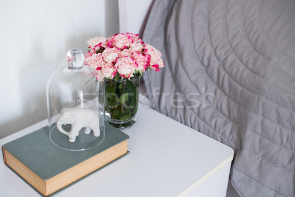roses in a bedroom Stock photo © manera