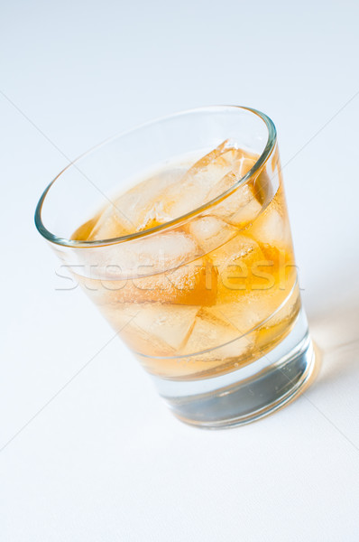 cold drink with ice Stock photo © manera