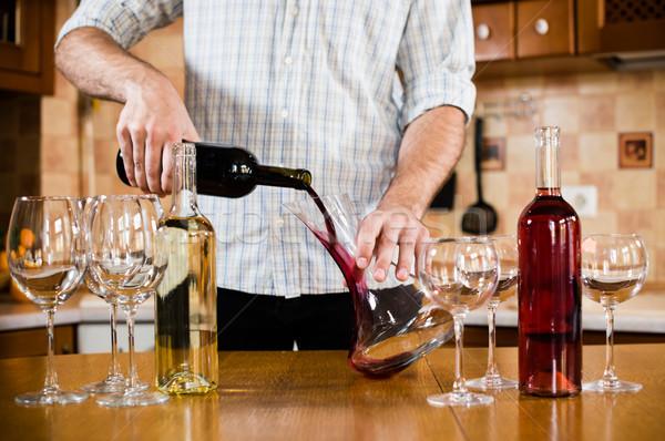 red wine  Stock photo © manera
