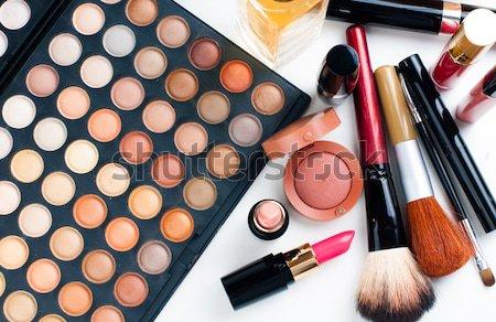 Profi smink szerszámok termékek szett természetes Stock fotó © manera