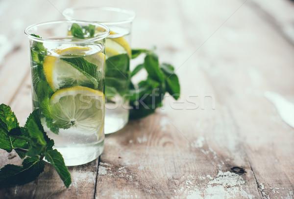 Сток-фото: лет · пить · домашний · лимонад