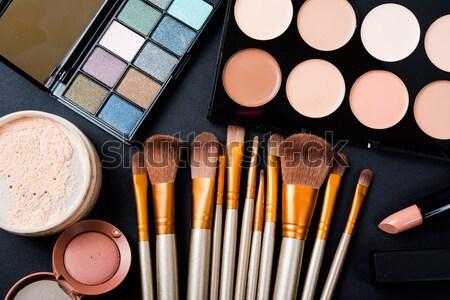 макияж набор кремом изолированный палитра Сток-фото © manera