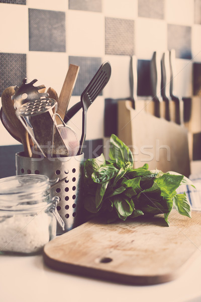 home kitchen supplies Stock photo © manera