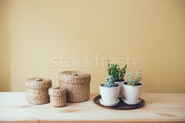 Cozy vintage home decoration Stock photo © manera