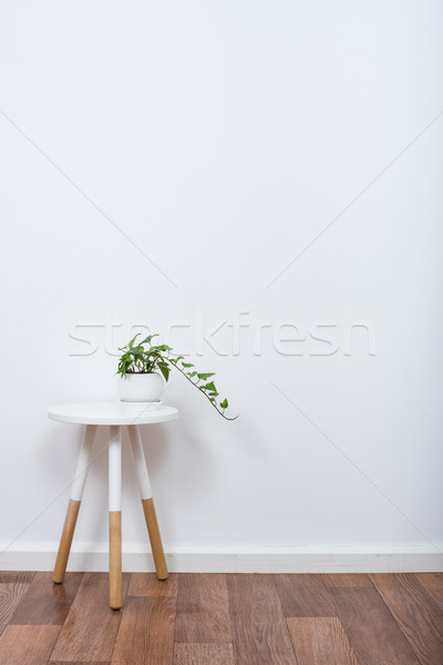 Foto stock: Simple · decoración · objetos · blanco · interior