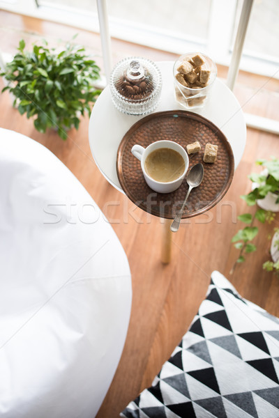 scandinavian style hipster interior, cozy loft room Stock photo © manera