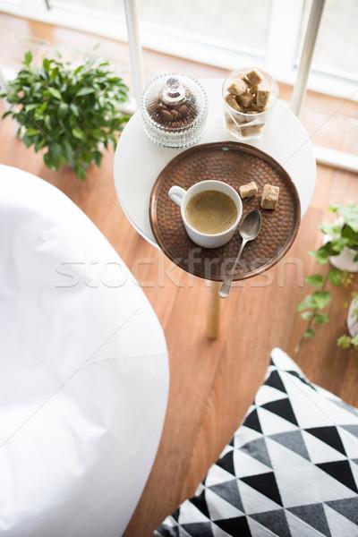 Estilo interior confortável sótão quarto Foto stock © manera