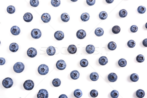 blueberries isolated macro shot Stock photo © manera