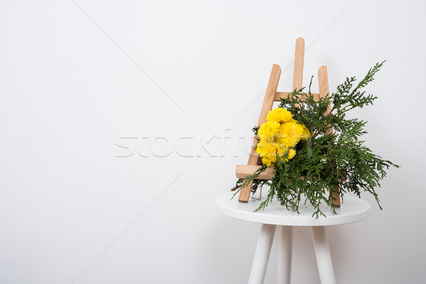Arrangement of flowers and branches Stock photo © manera