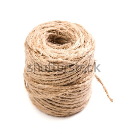 New spool of craft twine isolated Stock photo © manera