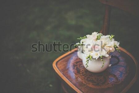 Lata ślub strony świeże Zdjęcia stock © manera