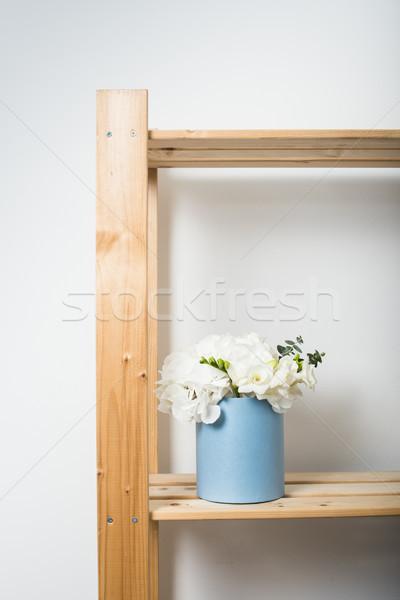 Bouquet of white hydrangeas Stock photo © manera