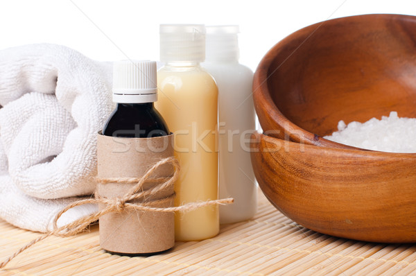 Close-up of products for spa and body care Stock photo © manera